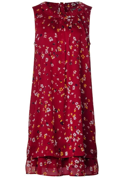 Kleider für Frauen - STREET ONE Kleid mischfarben rot  - Onlineshop ABOUT YOU