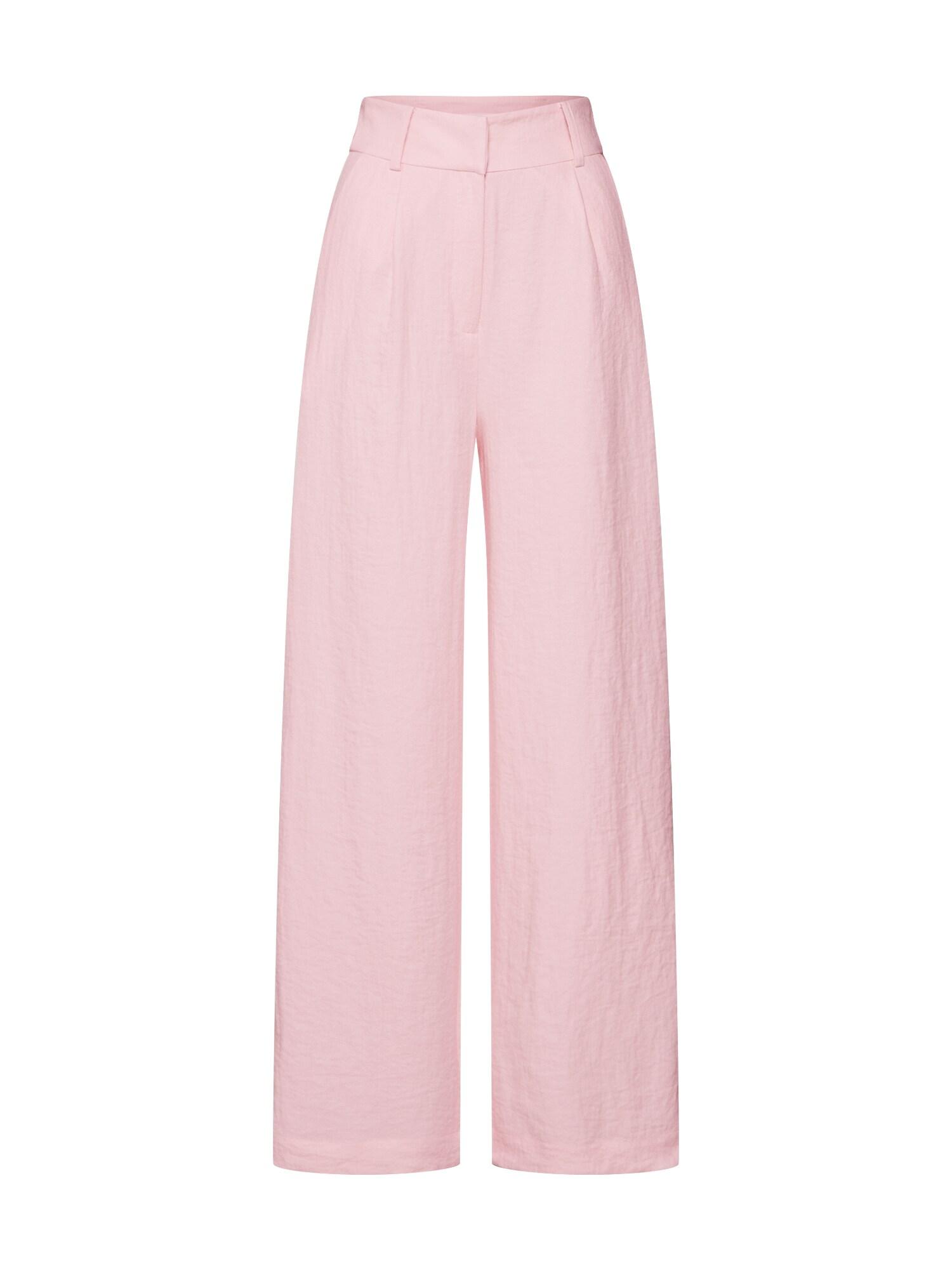 EDITED Klostuotos kelnės 'Juna' rožinė