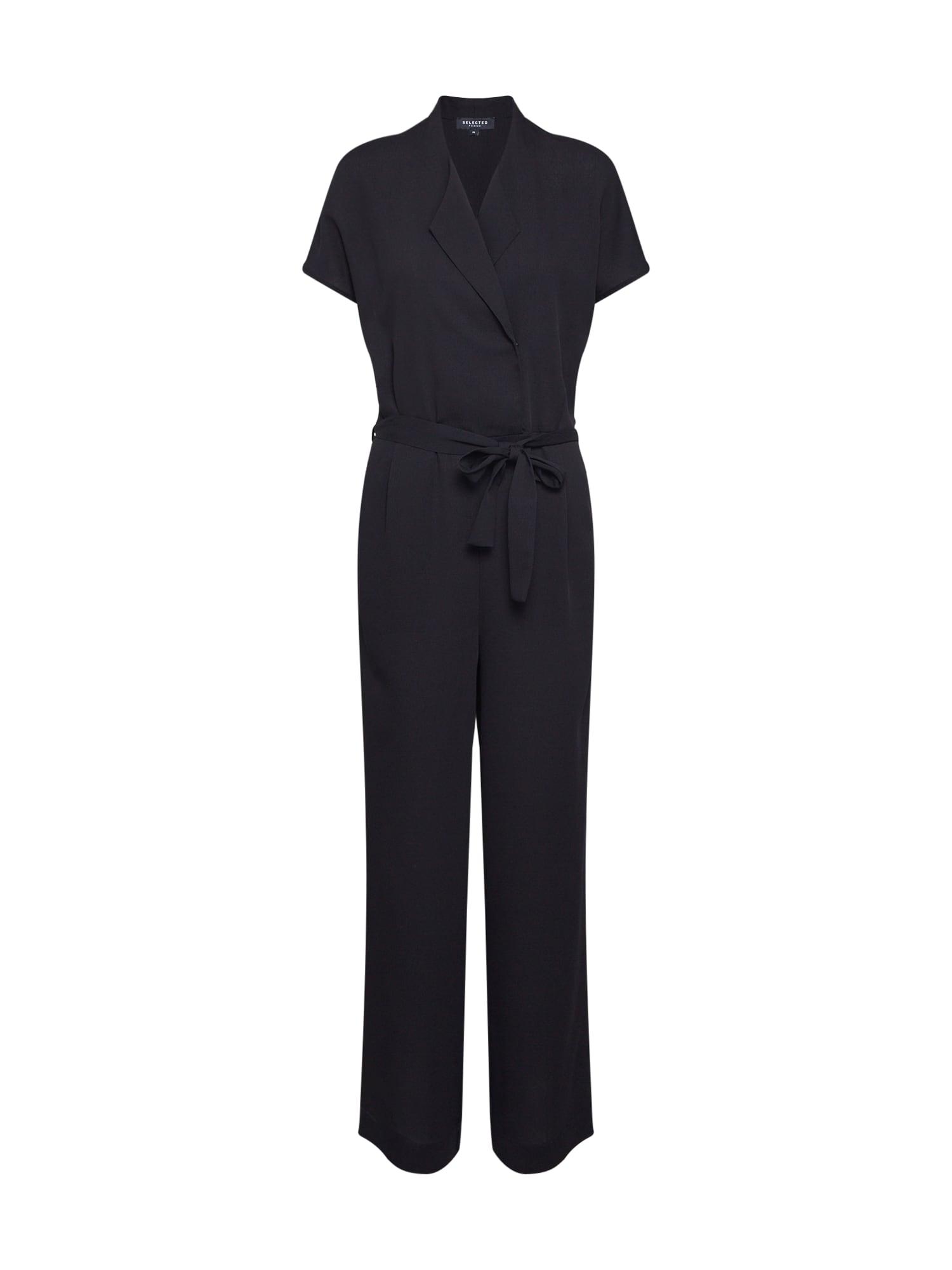 SELECTED FEMME Kombinezono tipo kostiumas juoda