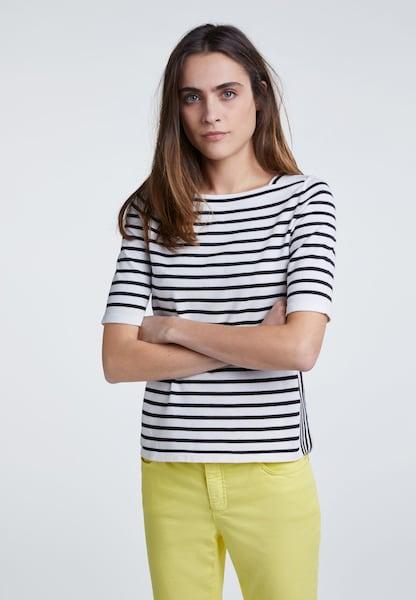 Oberteile für Frauen - OUI Pullover schwarz weiß  - Onlineshop ABOUT YOU