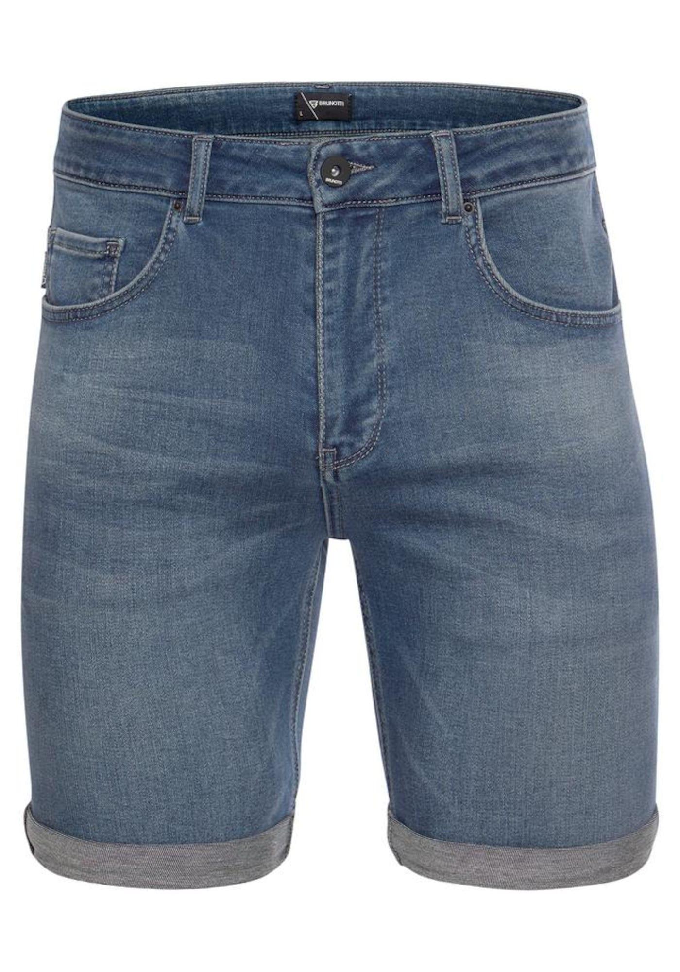 BRUNOTTI Kelnės 'HANGTIME' tamsiai (džinso) mėlyna