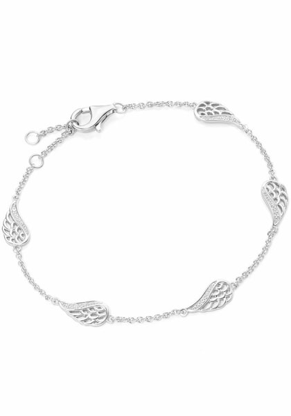 Armbaender für Frauen - FIRETTI Armband 'Flügel' silber  - Onlineshop ABOUT YOU
