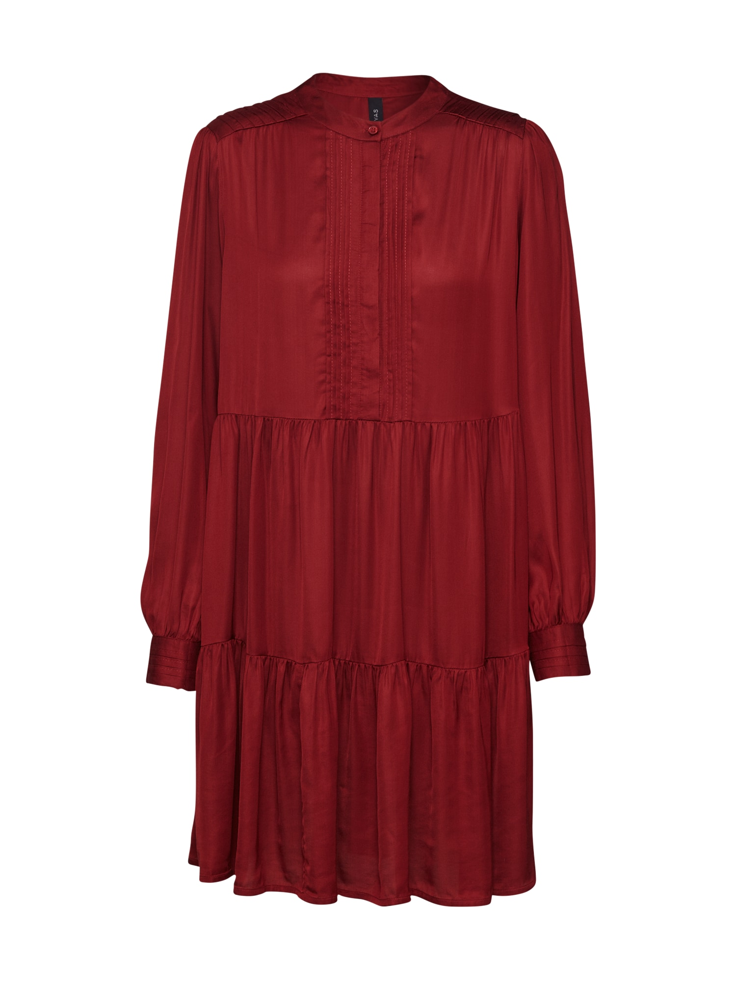 Y.A.S Kokteilové šaty 'YASPAMELA'  vínovo červená