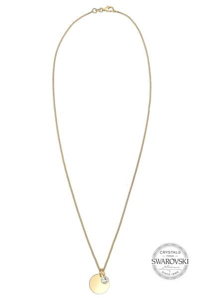 Ketten für Frauen - ELLI Halskette 'Geburtsstein' gold weiß  - Onlineshop ABOUT YOU
