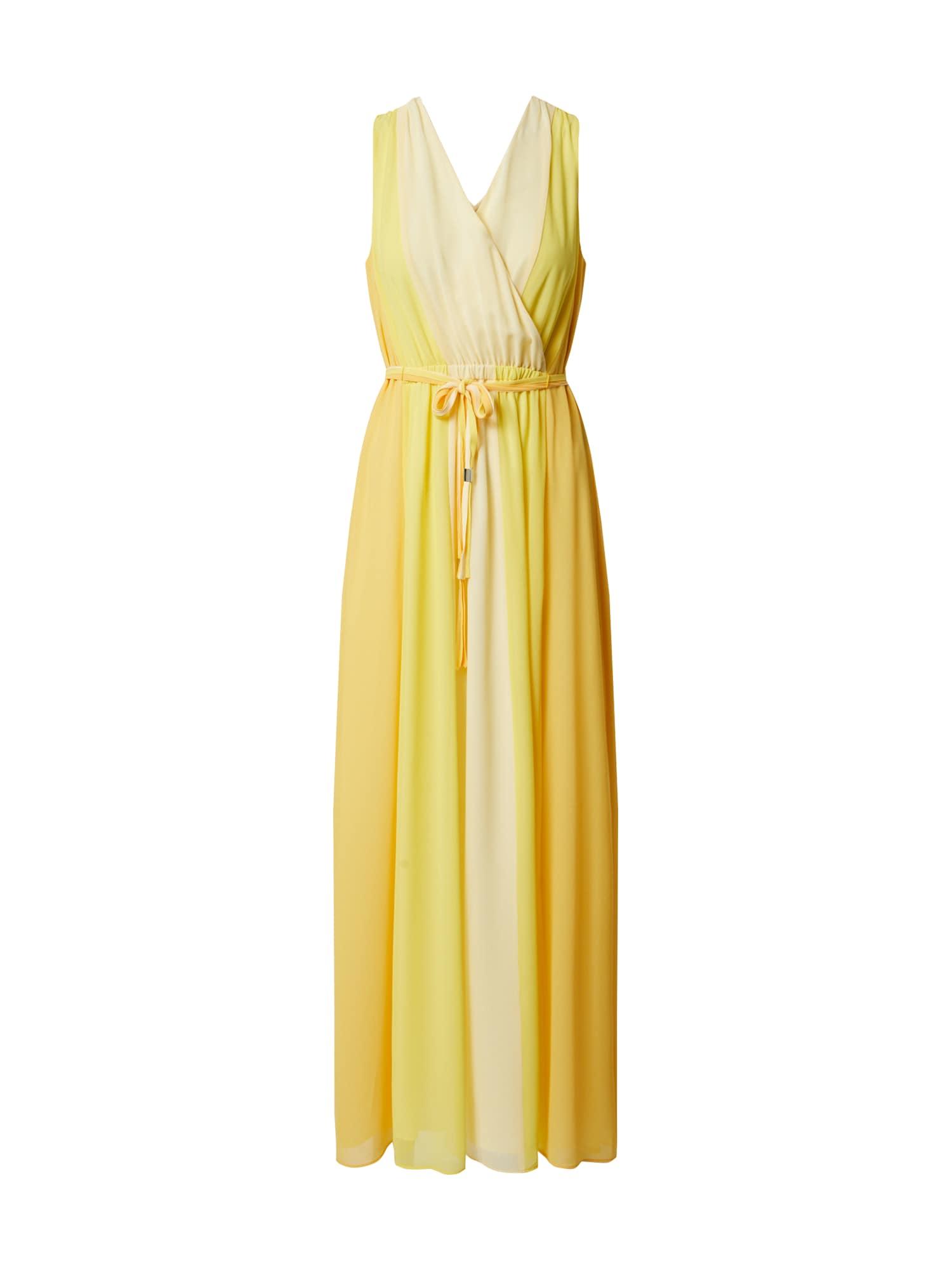 COMMA Suknelė geltona