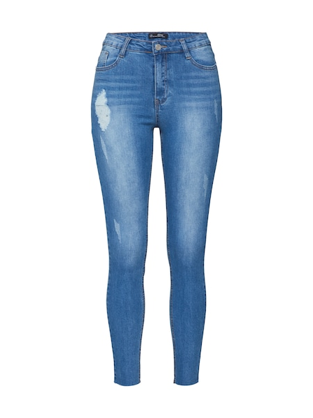 Hosen - Jeans 'SINNER CLEAN DISTRESSED SKINNY' › Missguided › blue denim  - Onlineshop ABOUT YOU