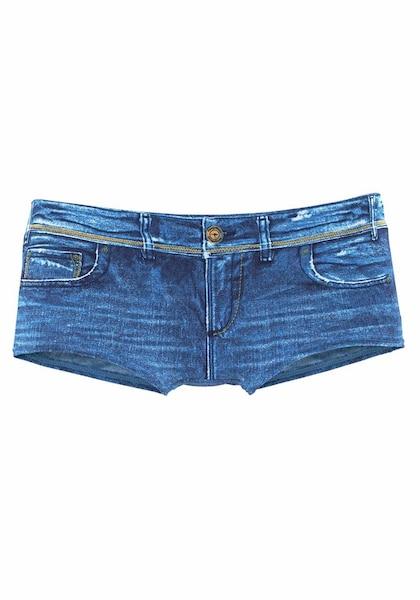 Bademode - Badehotpants › Kangaroos › blue denim  - Onlineshop ABOUT YOU