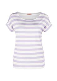 TRIANGLE Damen V-Shape-Shirt weiß | 04060843782804