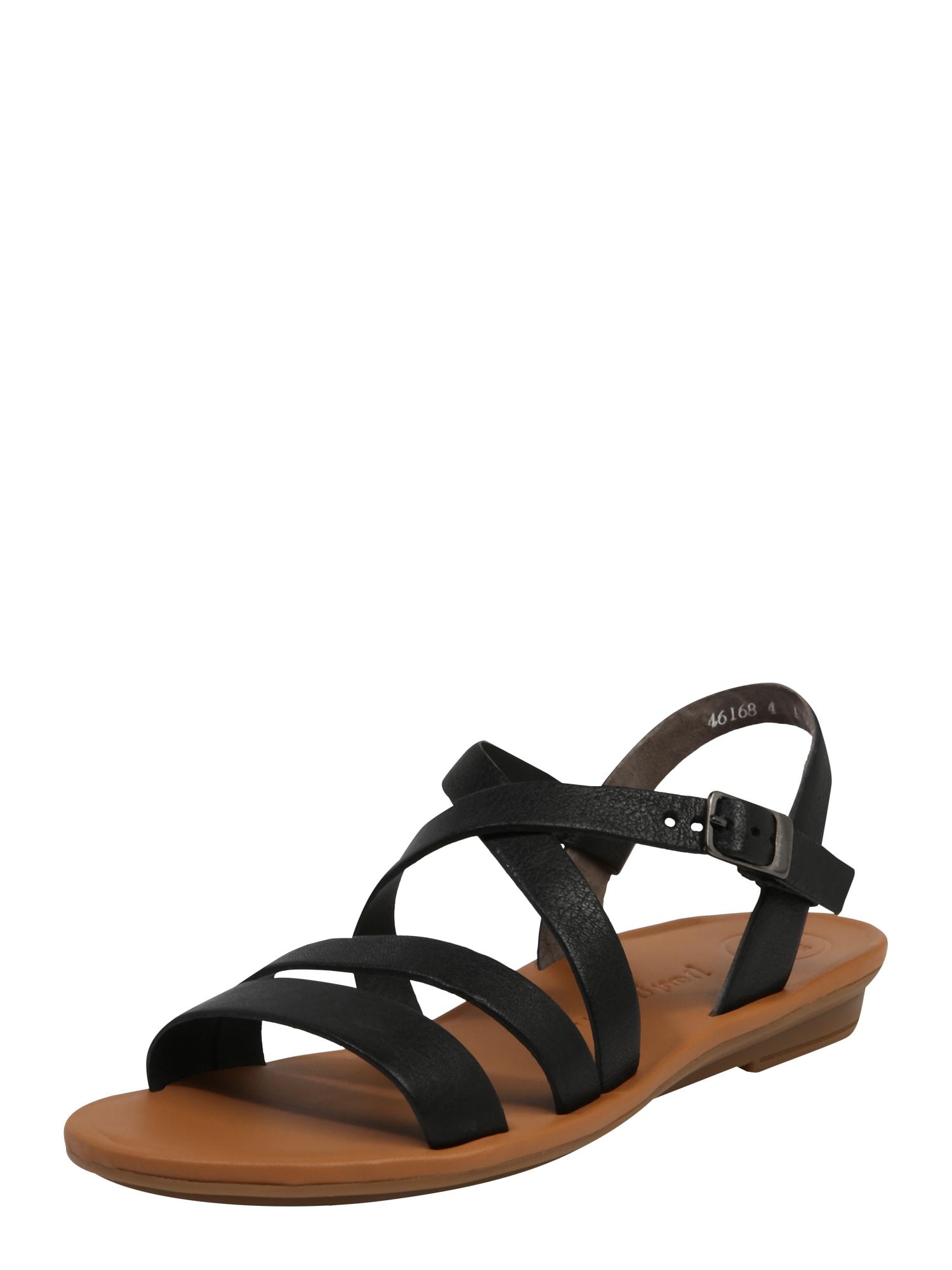 Paul Green Sandále  čierna