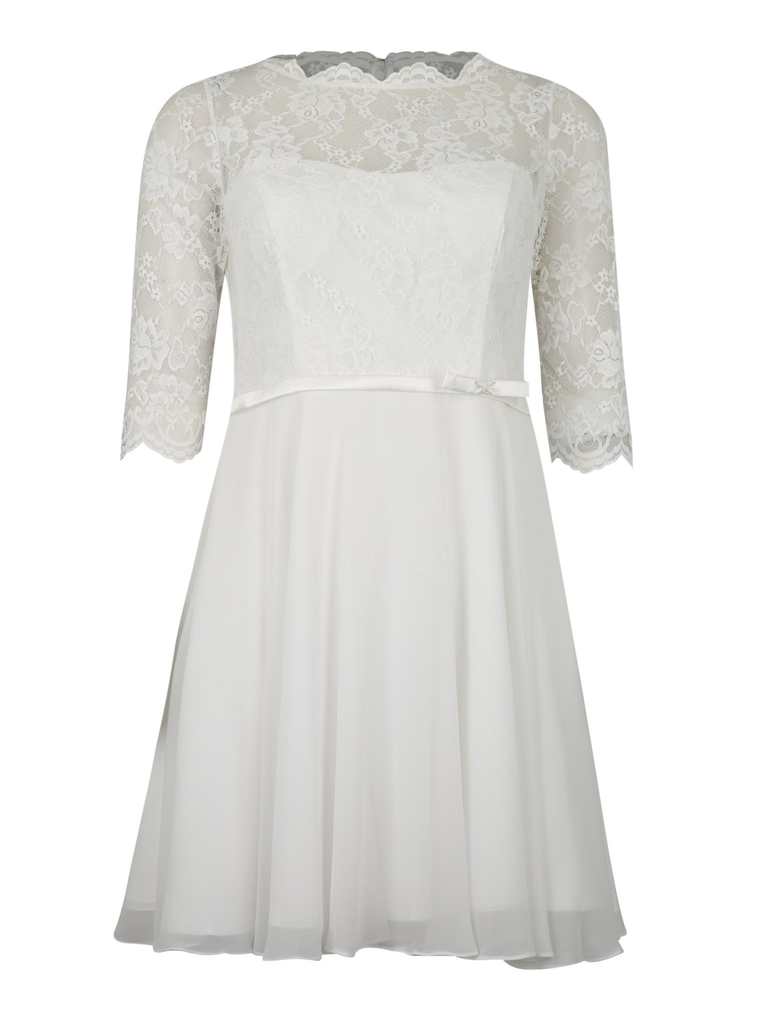 My Mascara Curves Kokteilinė suknelė balta