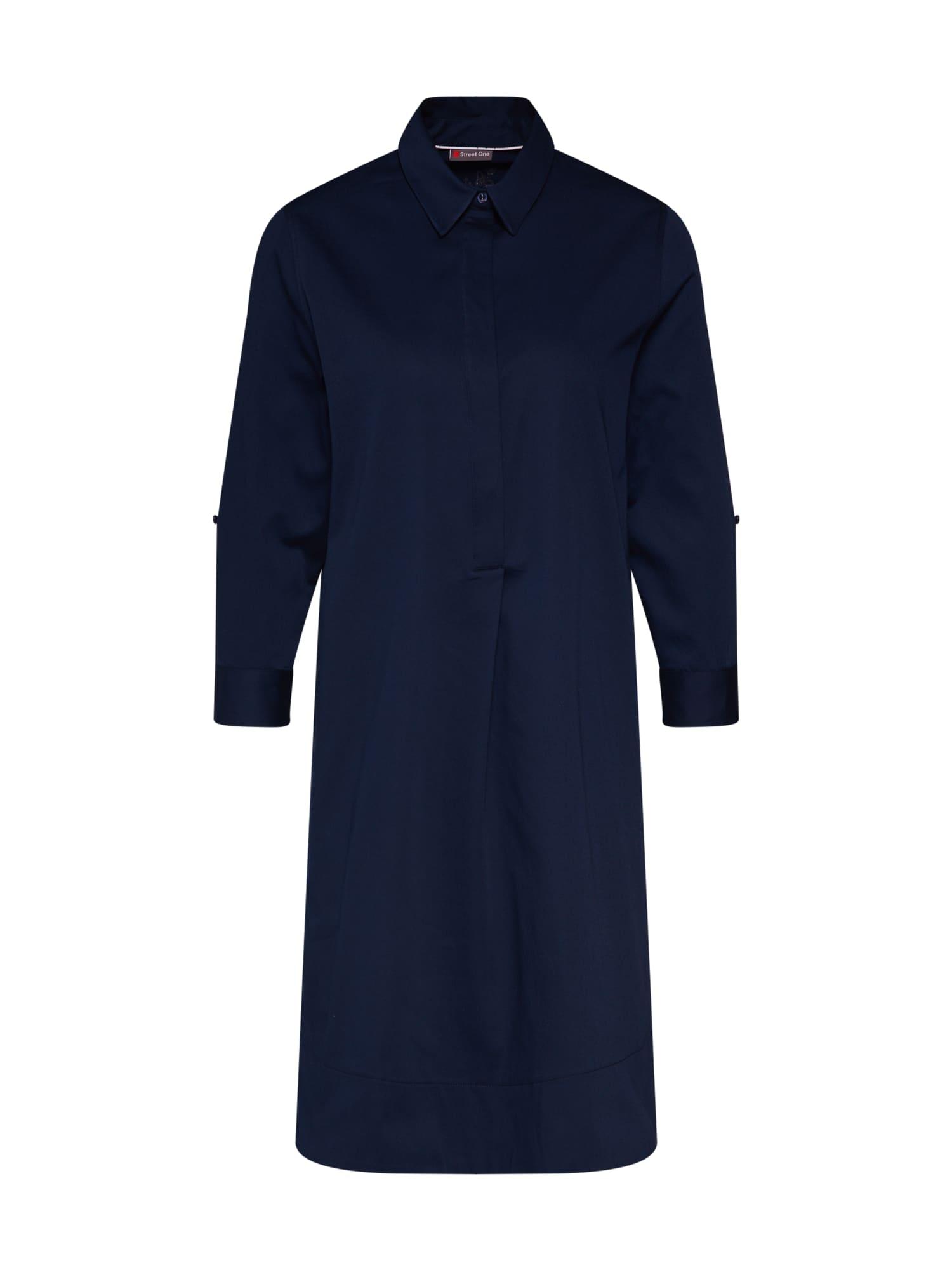 Košilové šaty tmavě modrá STREET ONE
