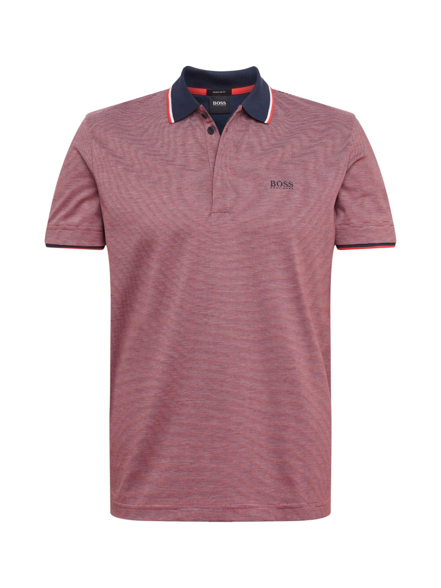 BOSS ATHLEISURE Marškinėliai 'Paddy 2' raudona