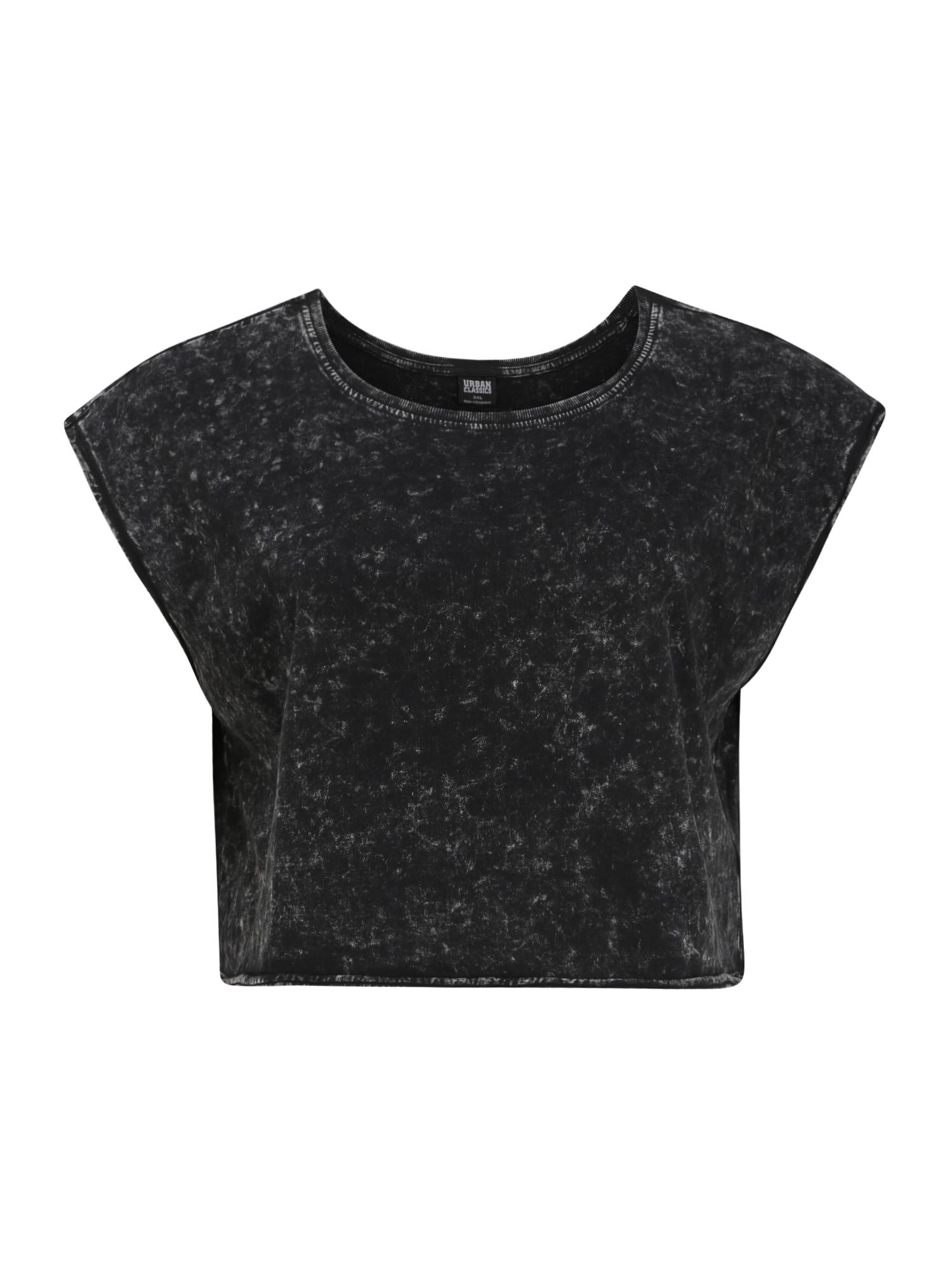 Urban Classics Curvy Tričko  čierna
