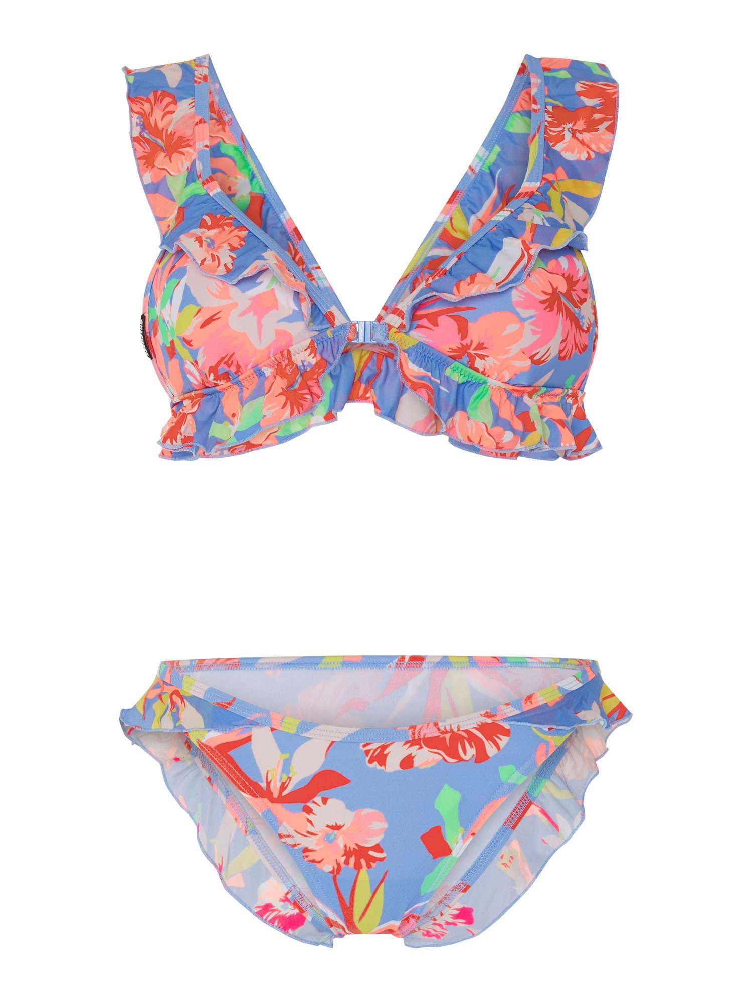 CHIEMSEE Bikinis šviesiai mėlyna / rožinė