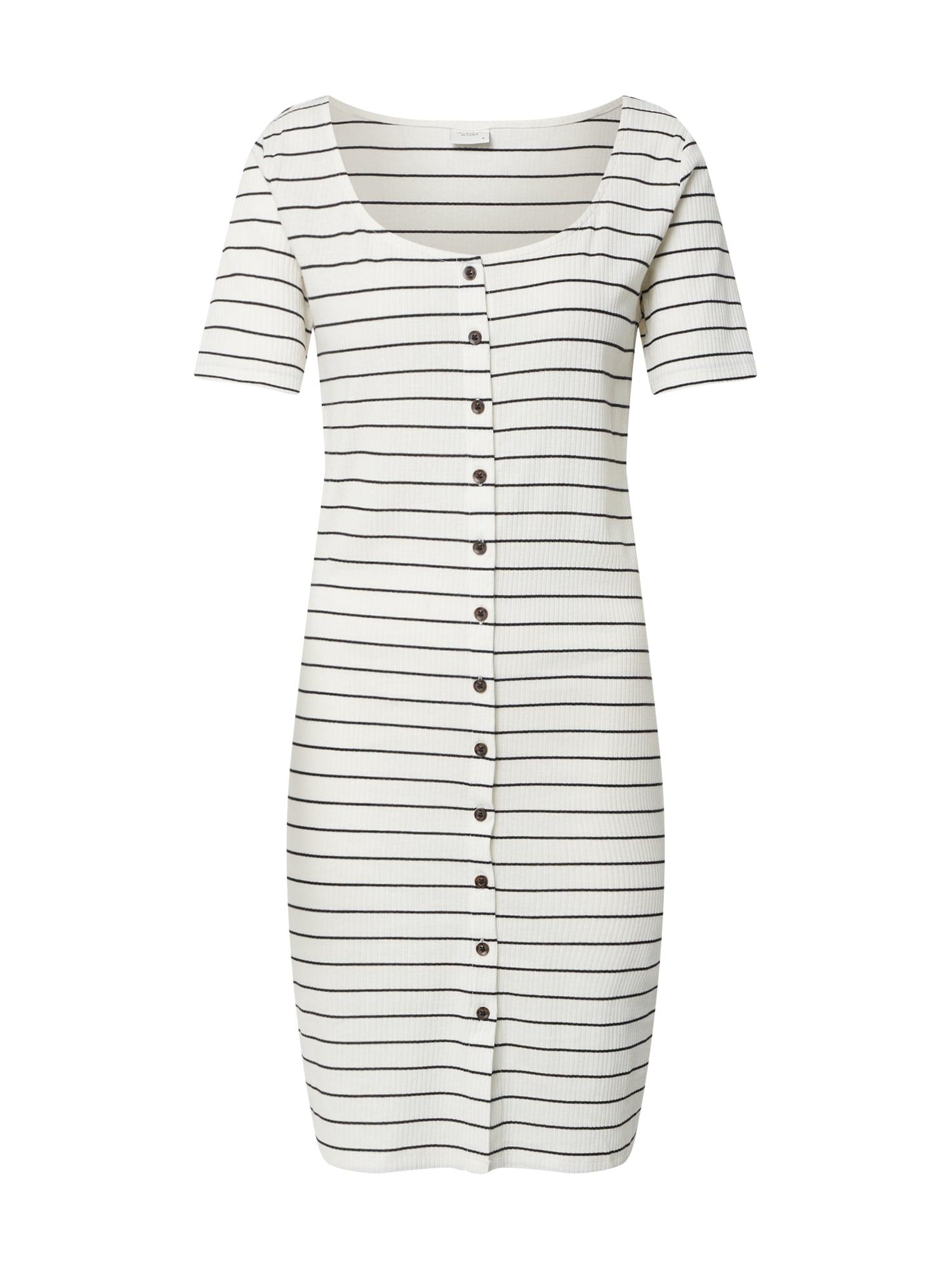 JACQUELINE de YONG Letné šaty 'NEVADA'  modré / biela