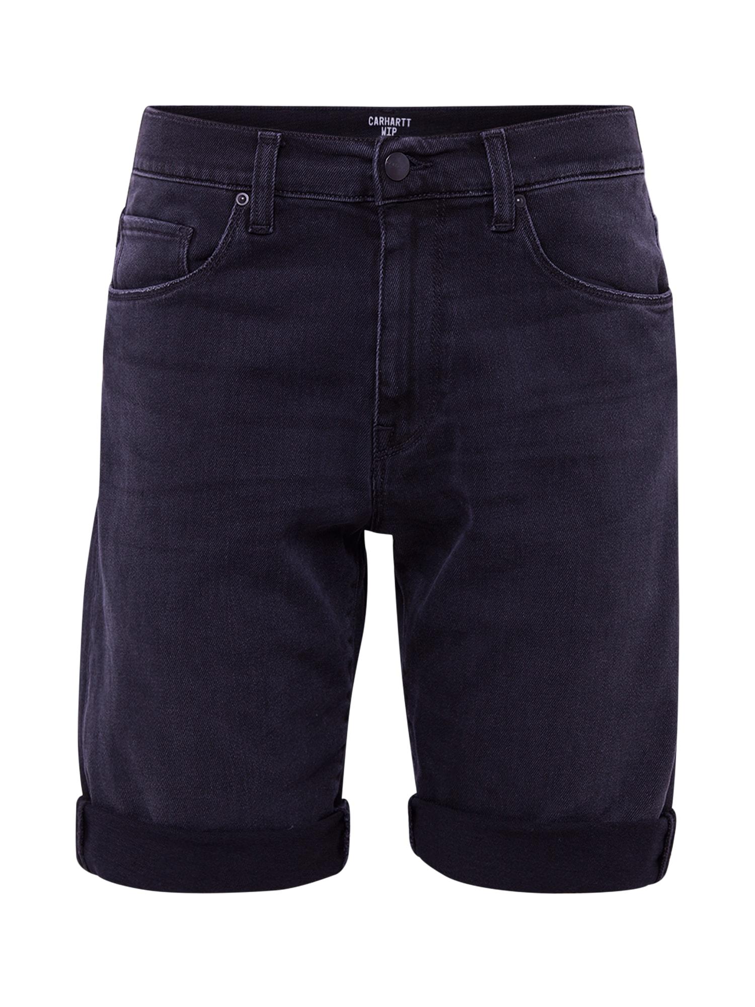 Carhartt WIP Džinsai 'Swell' juodo džinso spalva