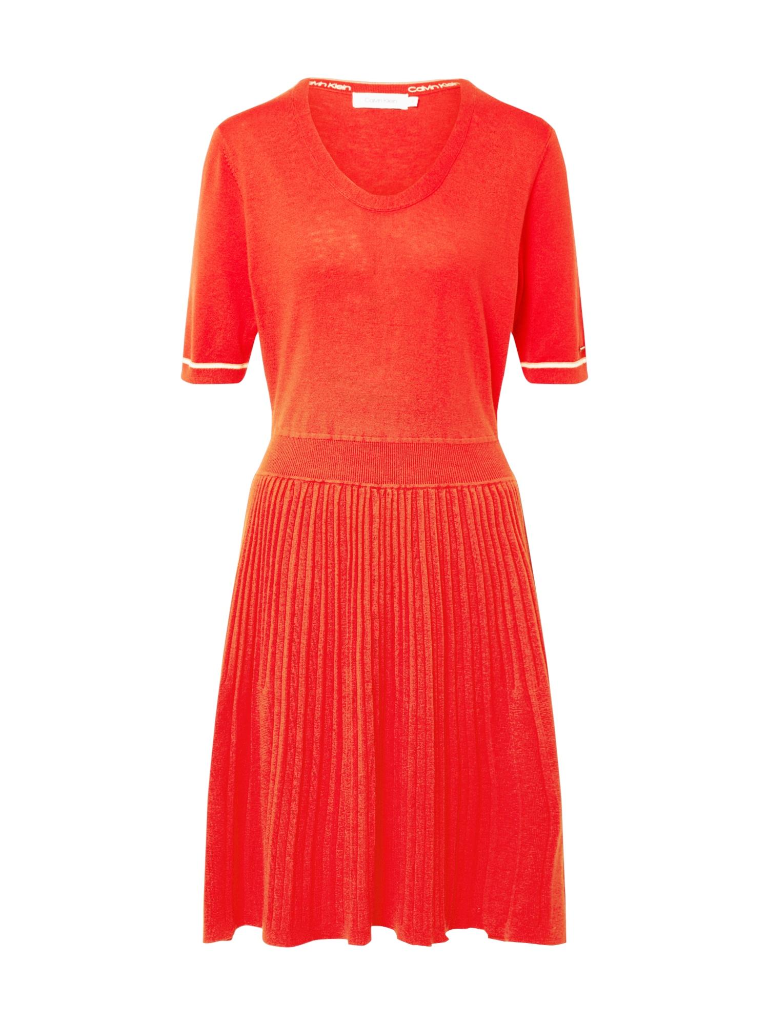 Calvin Klein Suknelė oranžinė