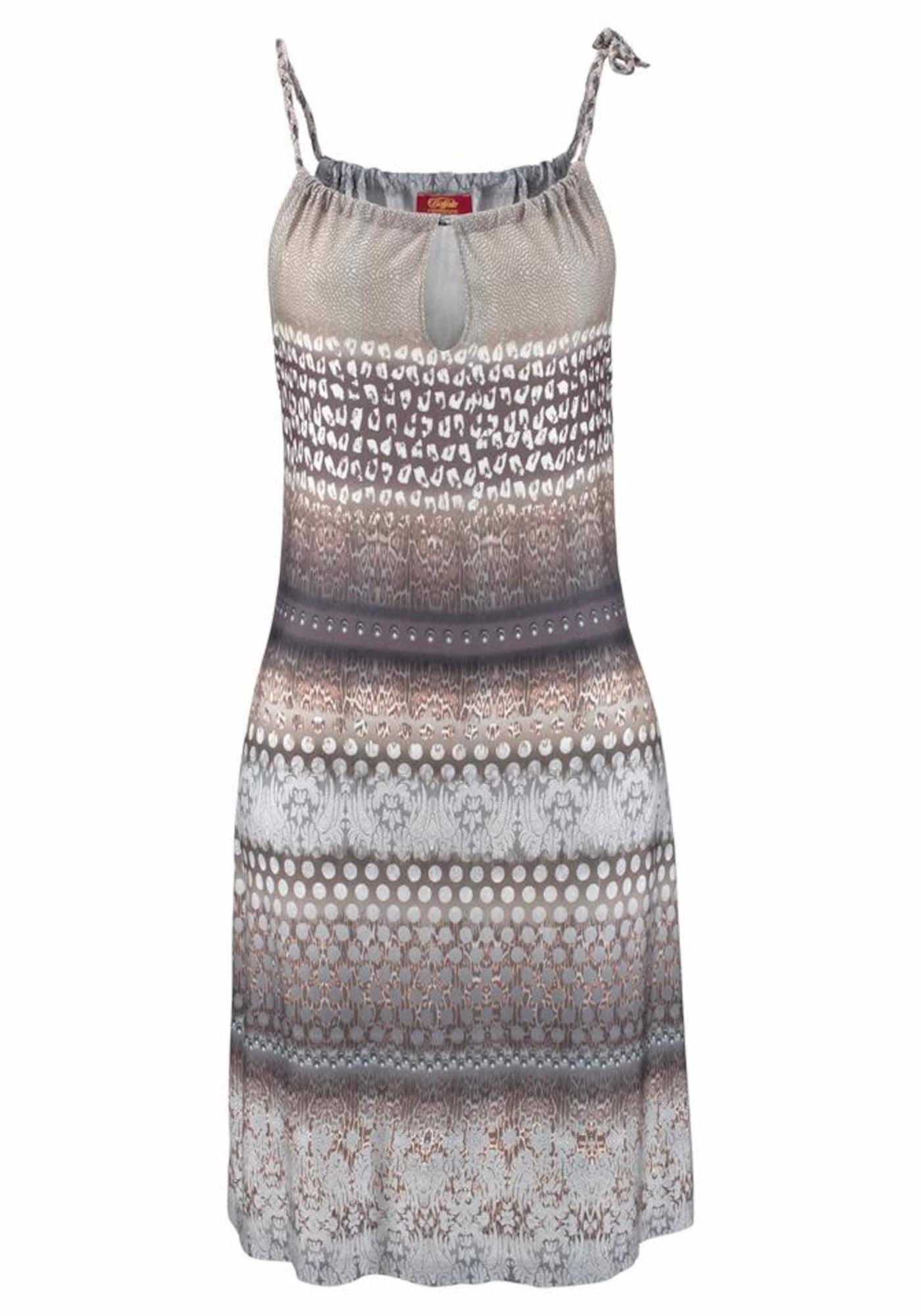 BUFFALO Paplūdimio suknelė mėlyna dūmų spalva / mokos spalva
