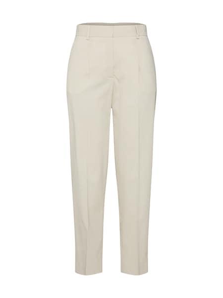 Hosen für Frauen - Calvin Klein Hose 'ELASTIC BACK' beige  - Onlineshop ABOUT YOU