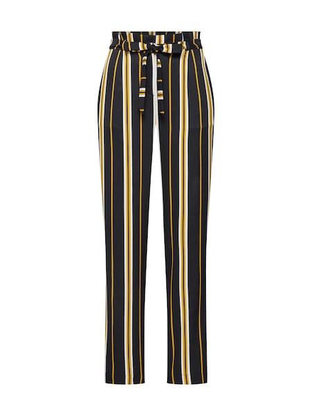 Hosen für Frauen - Hose 'Malia Pants' › SOAKED IN LUXURY › beige gelb schwarz  - Onlineshop ABOUT YOU