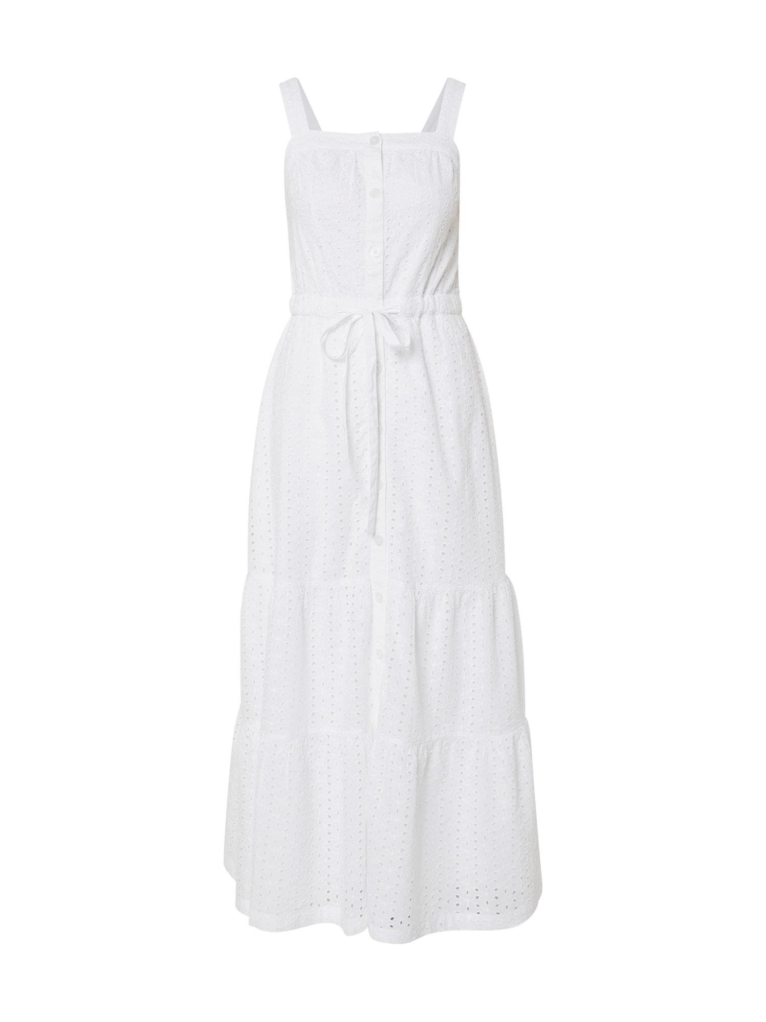 GAP Vasarinė suknelė vilnos balta