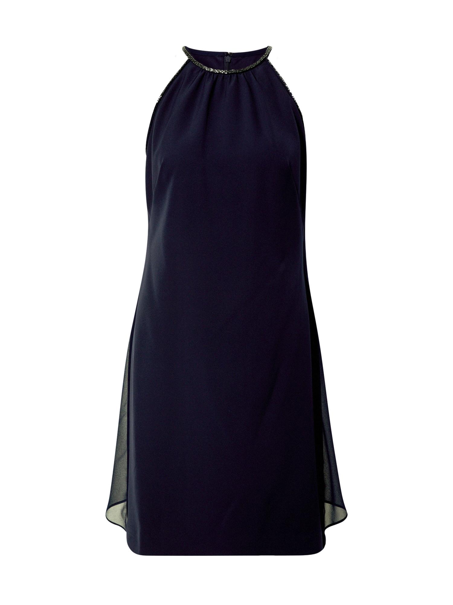 Lauren Ralph Lauren Kokteilinė suknelė tamsiai mėlyna