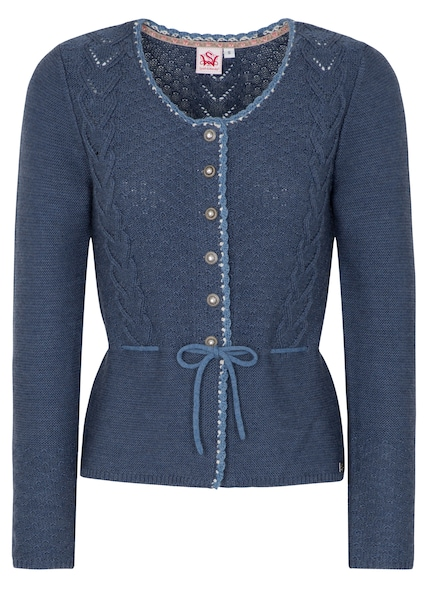Jacken - Strickjacke 'Katta' › SPIETH WENSKY › blue denim  - Onlineshop ABOUT YOU