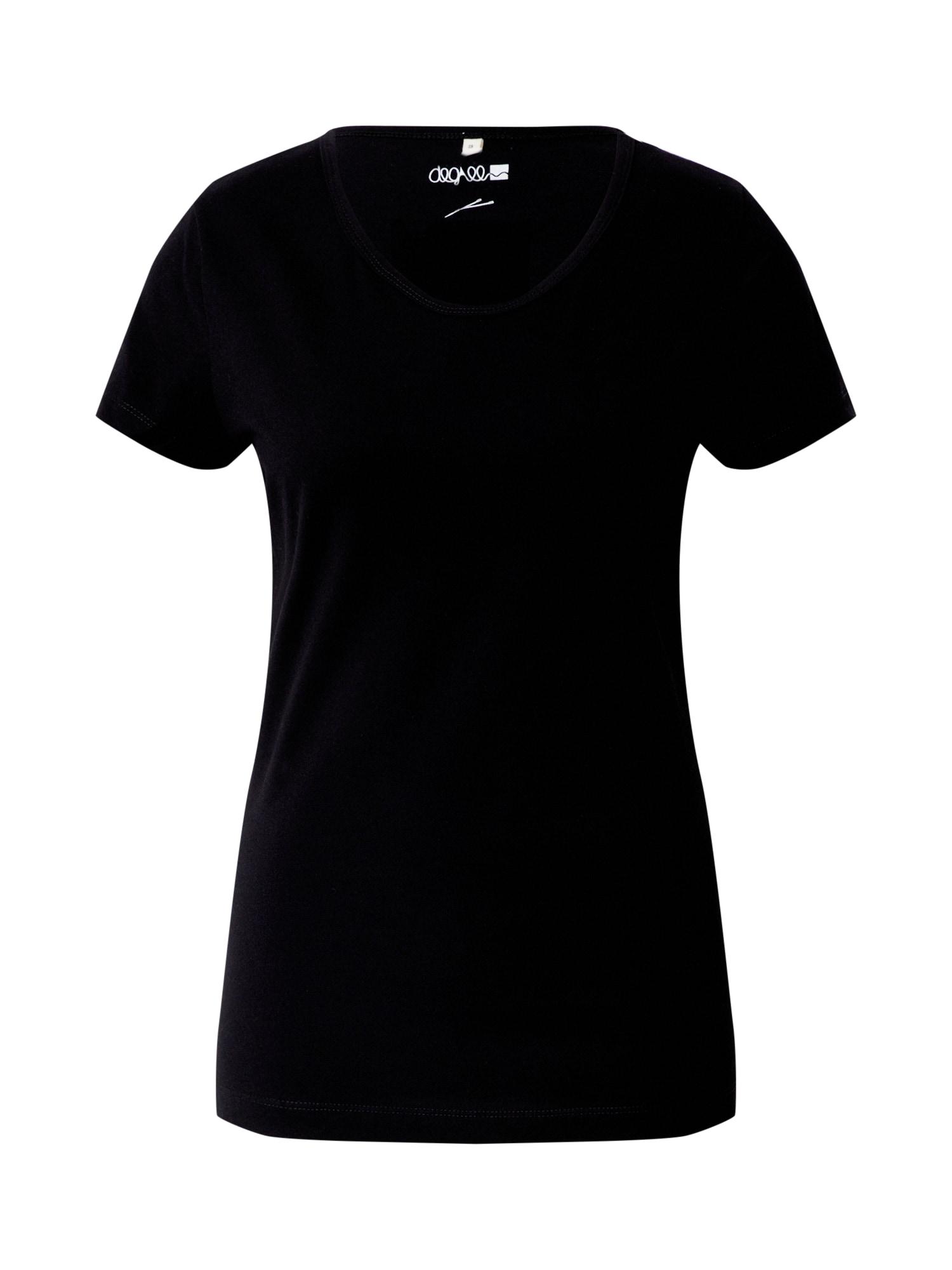 Degree Marškinėliai juoda