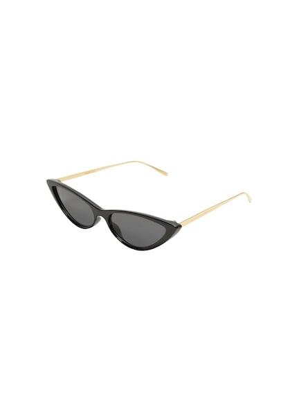 Sonnenbrillen für Frauen - MANGO Sonnenbrille 'Claire' gold schwarz  - Onlineshop ABOUT YOU