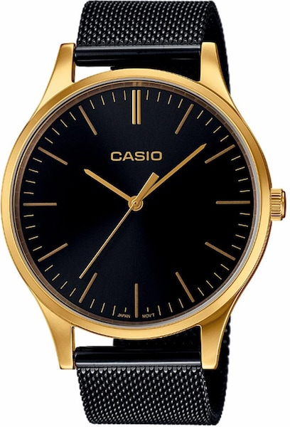 Uhren für Frauen - CASIO Collection Quarzuhr 'LTP E140GB 1AEF' gold schwarz  - Onlineshop ABOUT YOU
