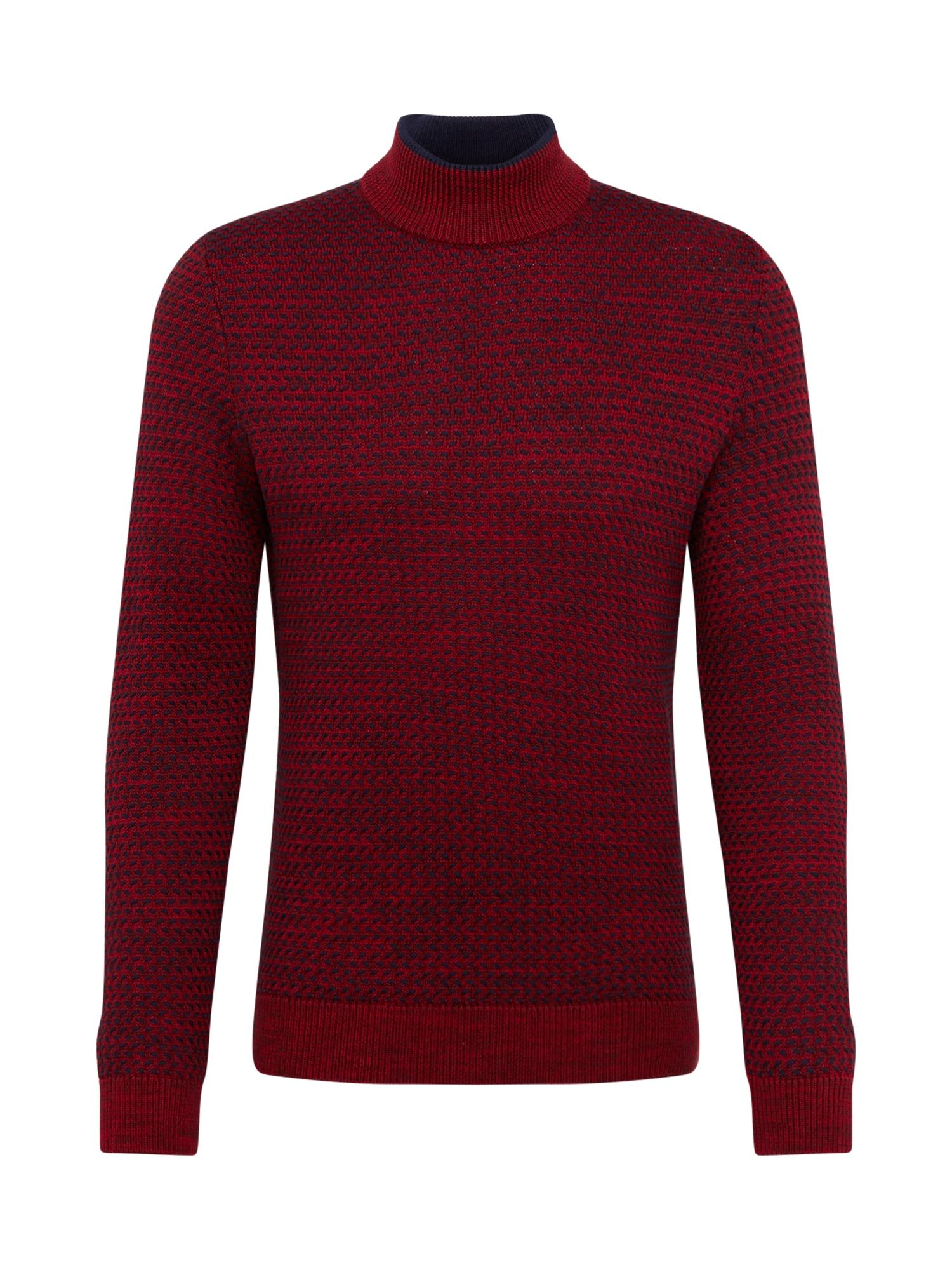 BOSS Megztinis 'Klepton' raudona