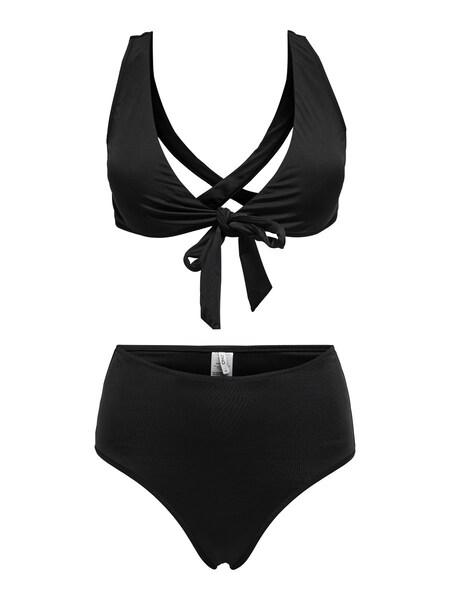 Bademode - Crossback Bikini › Only › schwarz  - Onlineshop ABOUT YOU