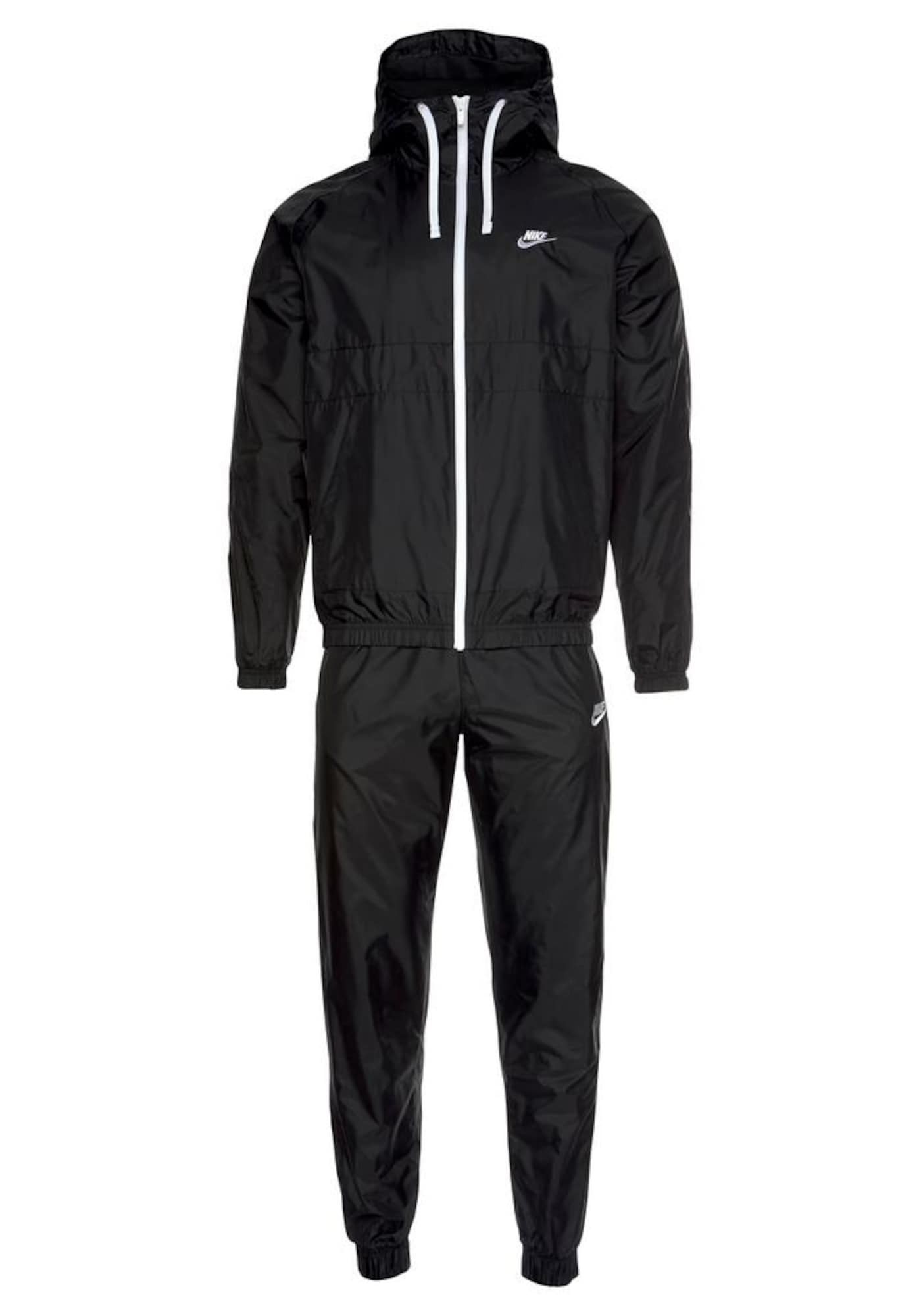 Nike Sportswear Treningas juoda / balta