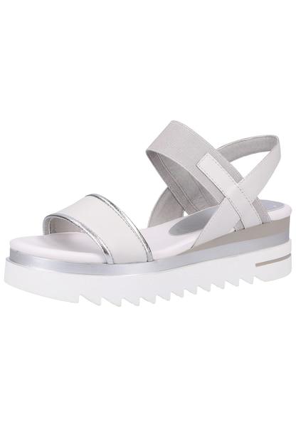Sandalen für Frauen - MARCO TOZZI Sandale weiß  - Onlineshop ABOUT YOU