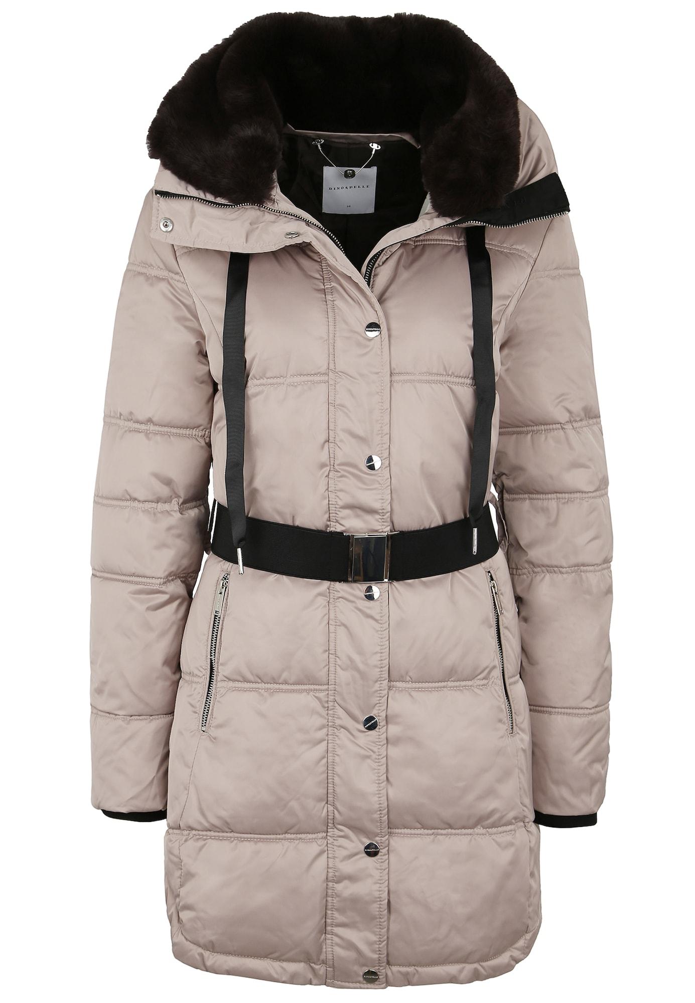 RINO & PELLE Žieminis paltas 'ADDISON' šviesiai ruda