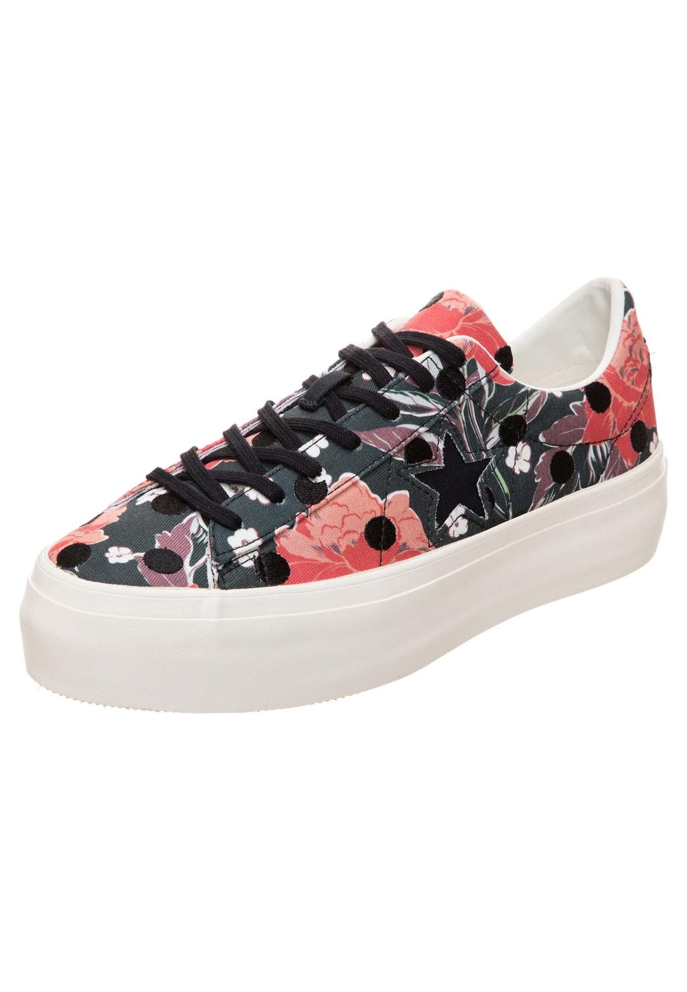 quality design ab331 b8526 Damen CONVERSE Cons One Star Platform OX Sneaker Damen apricot, aprikose,  orange, rot