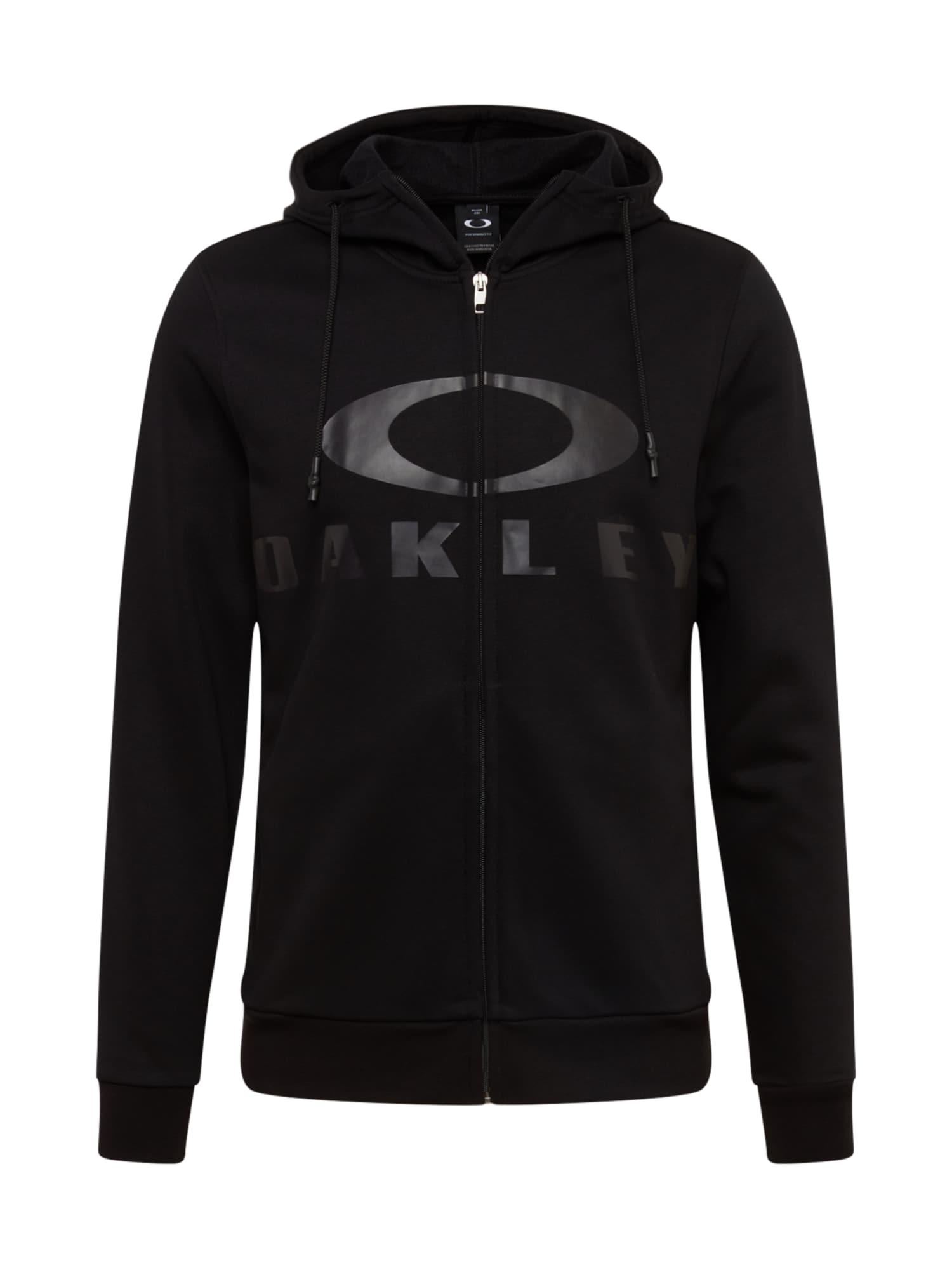 OAKLEY Sportinis džemperis juoda