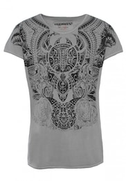 trueprodigy Herren T-Shirts Maori Culture grau,schwarz | 04057124049343