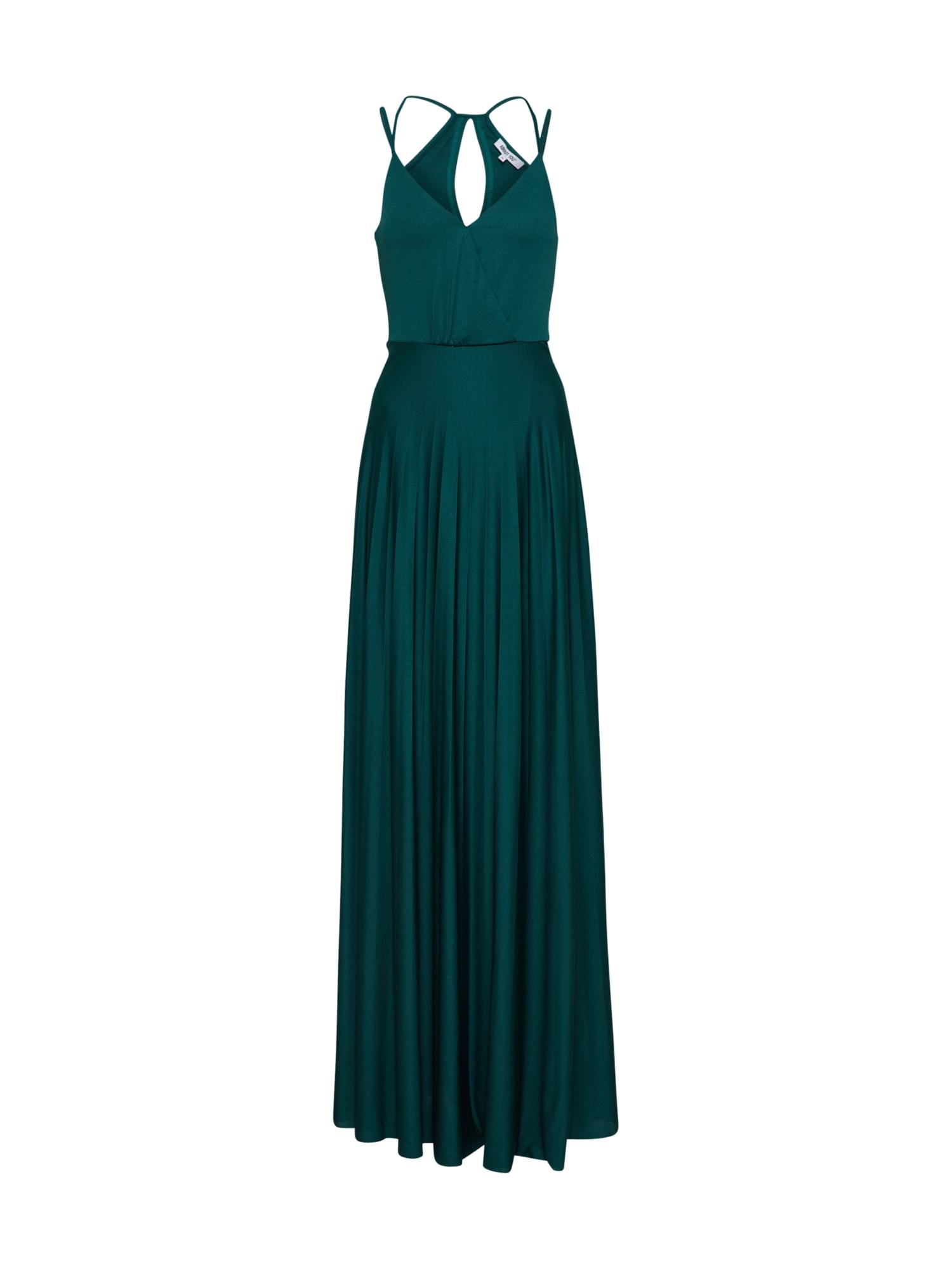 ABOUT YOU Vasarinė suknelė 'Falda' smaragdinė spalva
