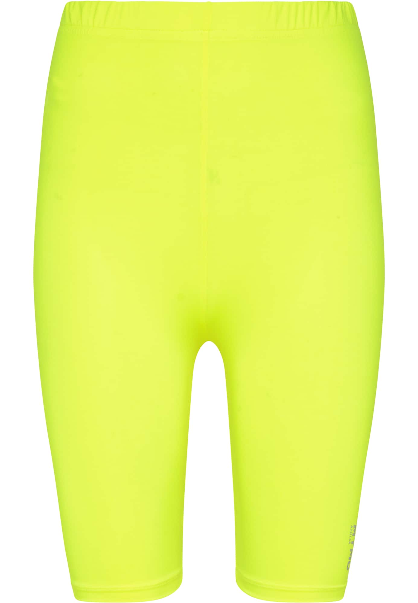 myMo ATHLSR Sportinės kelnės neoninė geltona / sidabrinė
