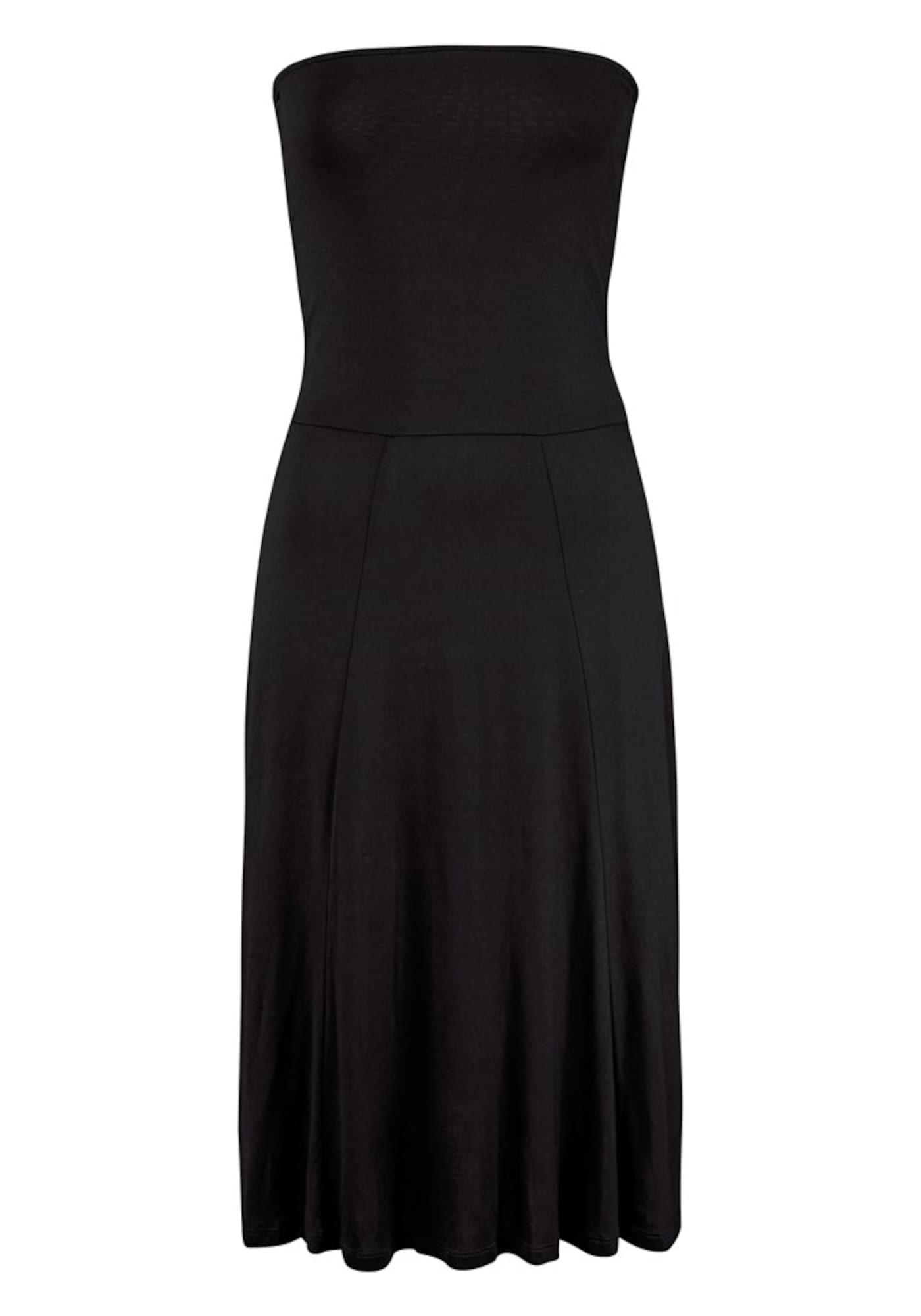 LASCANA Plážové šaty  čierna