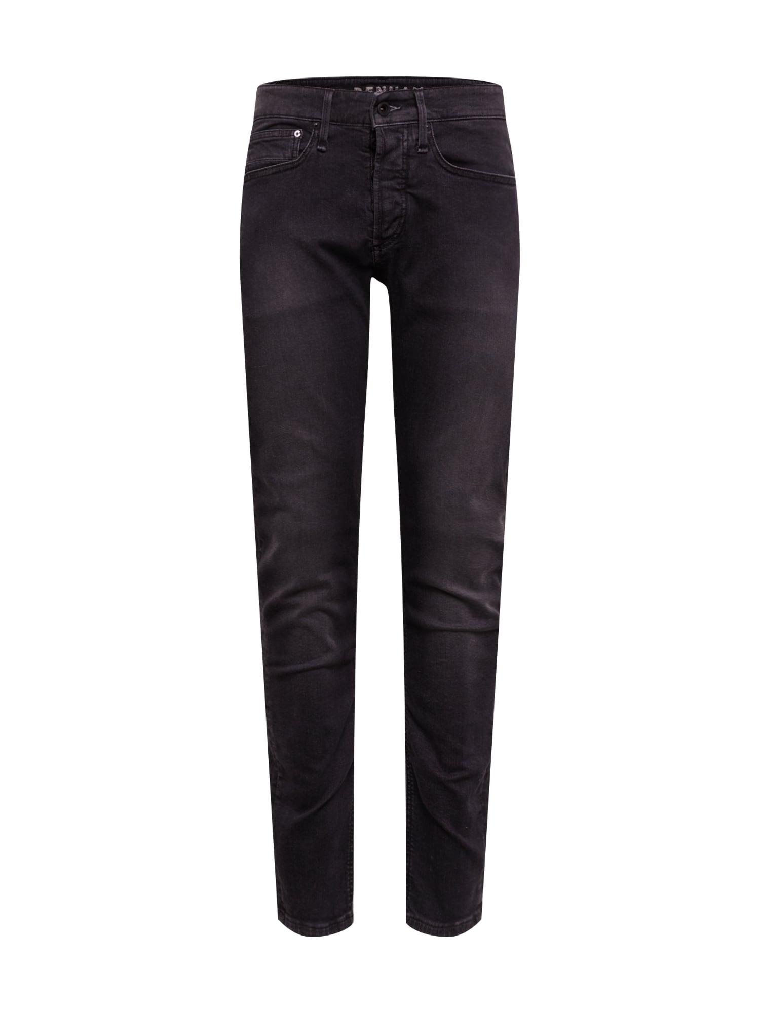 DENHAM Džinsai 'BOLT' juodo džinso spalva