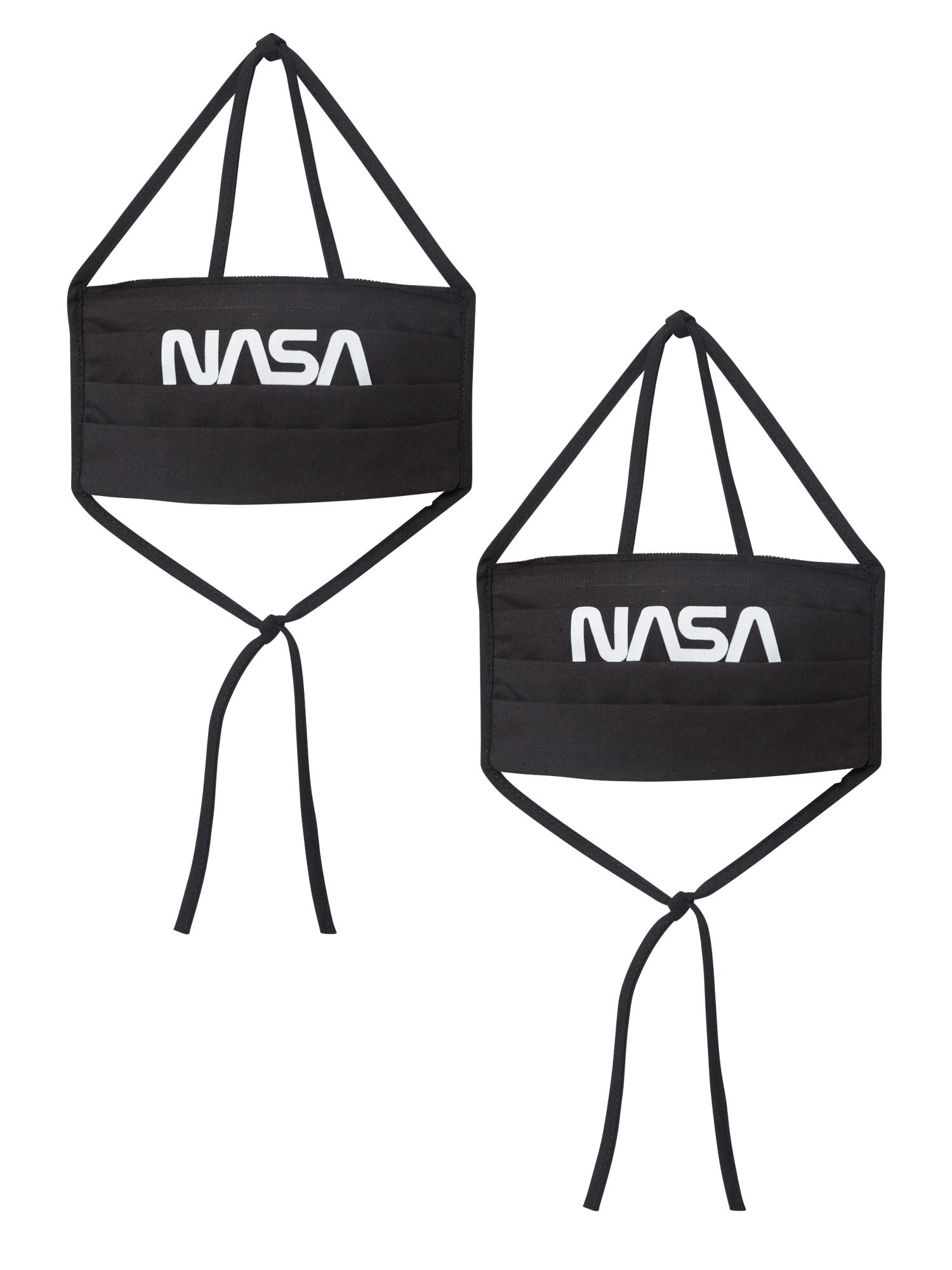 Mister Tee Mască de stofă 'NASA'  negru