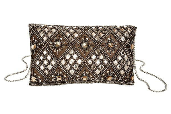 Clutches für Frauen - Clutch › heine › braun bronze silber  - Onlineshop ABOUT YOU