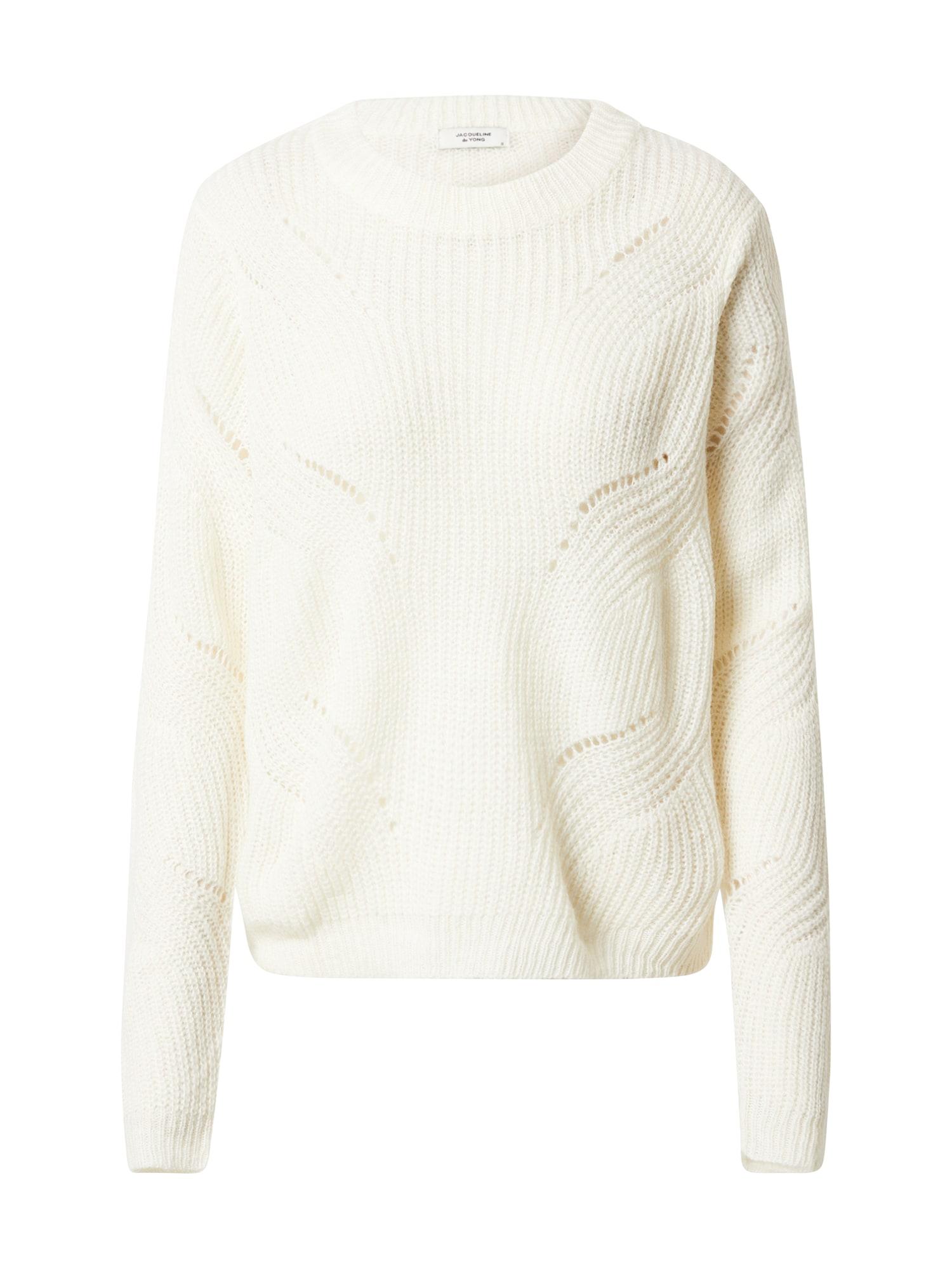 JACQUELINE de YONG Megztinis 'New Daisy' margai balta