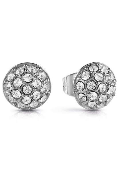 Ohrringe für Frauen - GUESS Ohrstecker 'Never without, UBE28074' silber  - Onlineshop ABOUT YOU