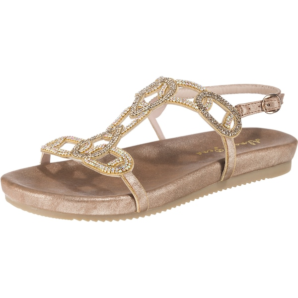 Sandalen für Frauen - Sandalen › Alma En Pena › gold  - Onlineshop ABOUT YOU