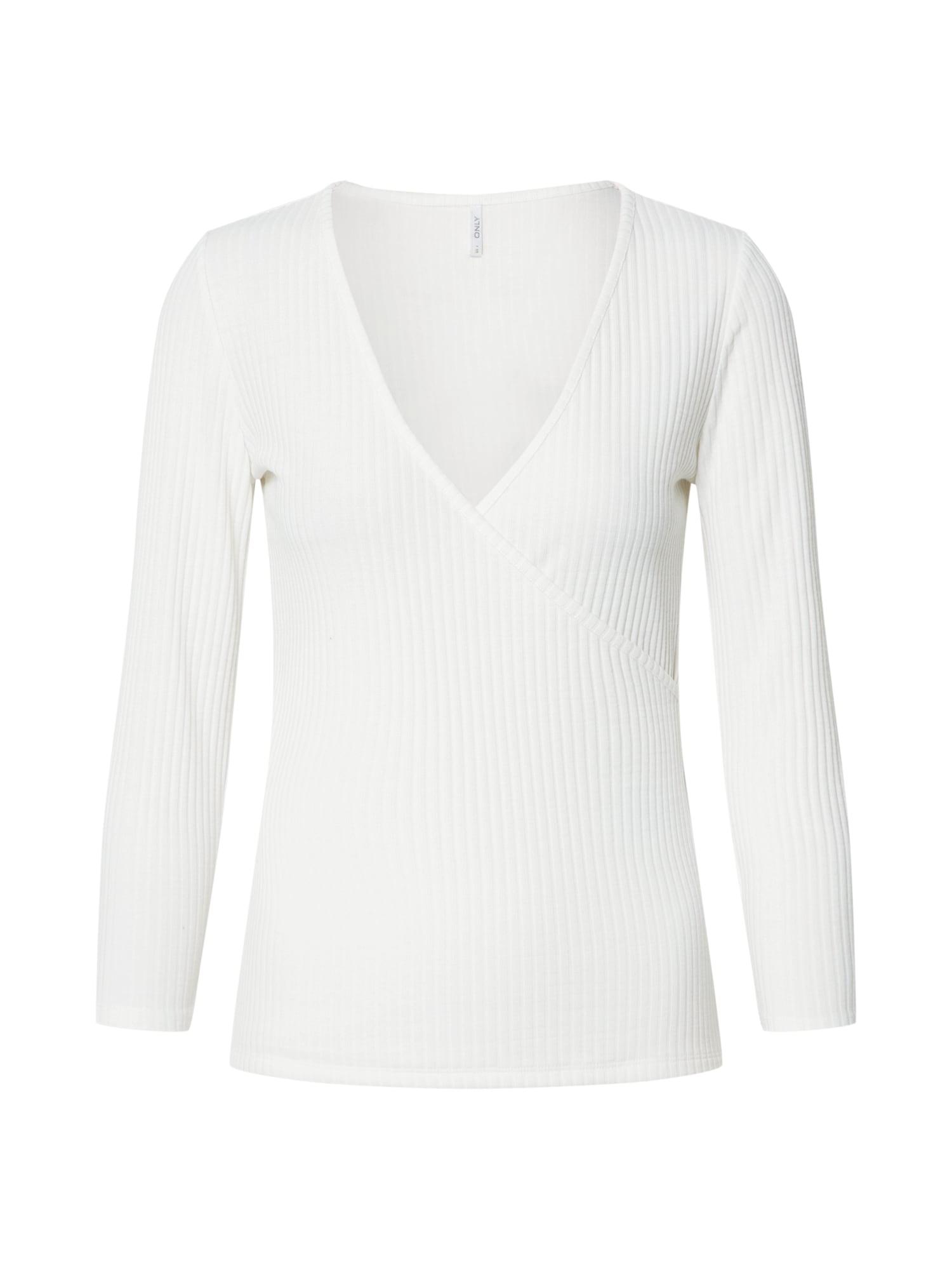 ONLY Marškinėliai 'ONLNELLA' balta