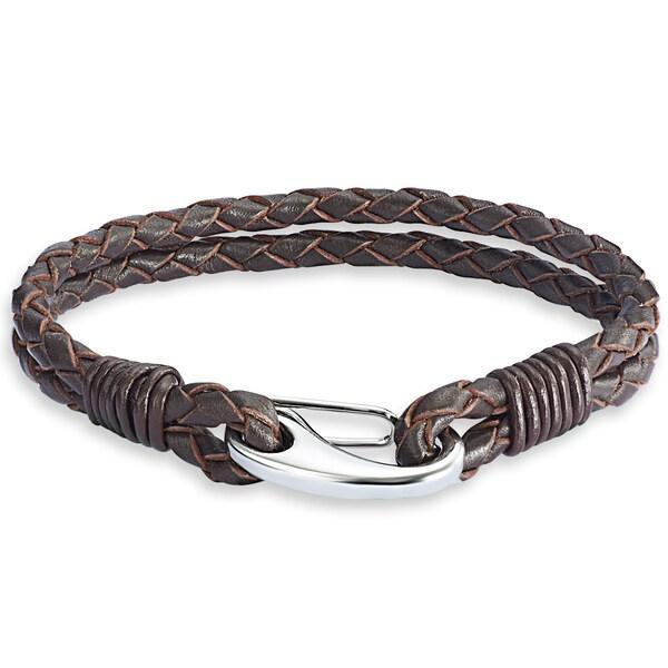 Armbaender - Echtlederarmband zweisträngig › Rafaela Donata › braun  - Onlineshop ABOUT YOU