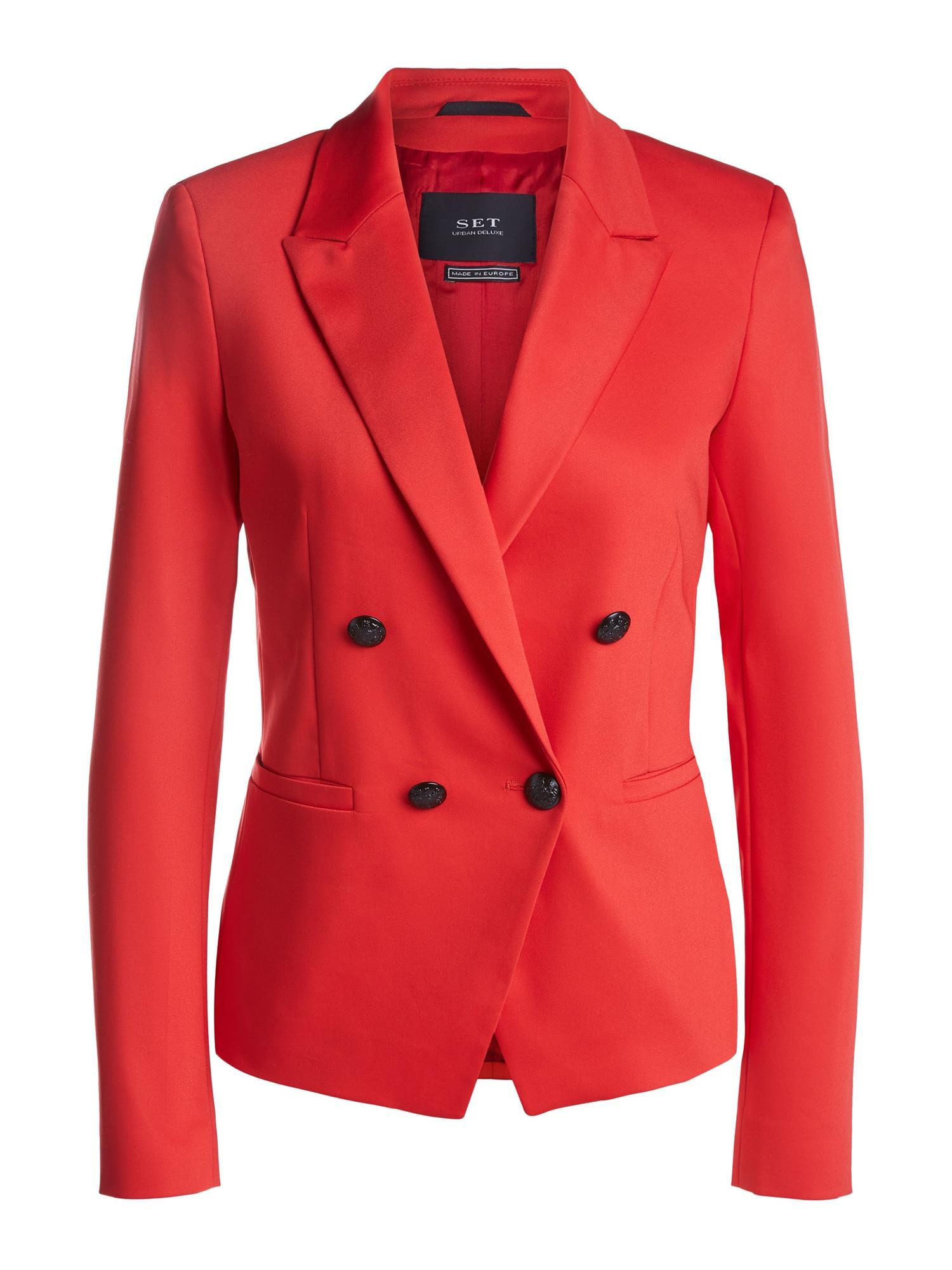 SET Blazer švarkas raudona